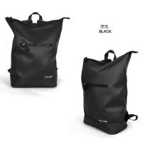 韩国BF风大容量潮酷休闲登山包男女情侣背包运动双肩包旅行包书包 ZO双背黑色