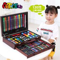 儿童绘画套装画笔画画工具小学生水彩笔女孩美术文具礼盒学习用品