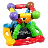 科博 磁力棒儿童早教益智玩具 拼插建构玩具 智力开发玩具 磁力玩具 礼物  开心城堡