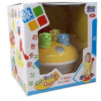 仙邦宝贝早教音乐打地鼠婴儿敲打玩具0-1-2岁男女宝宝大号升级版