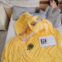 君别家纺办公室午睡小毯子珊瑚绒毯子双面秋季法兰绒纯色学生毛毯被子柔软保暖冬季宿舍床单空调盖毯