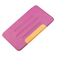 坚达 保护套/保护壳/平板电脑蚕丝纹皮套 适用于华为M3 8.4英寸BTV-W09/DL09蚕丝纹平板保护套 钢化膜