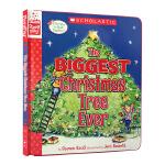 【中商原版】学乐故事角色扮演互动书The Biggest Christmas Tree Ever