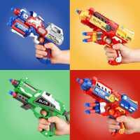 �和�吸�P子����手海棉男童�����3-6�q小孩玩具男孩��射�������