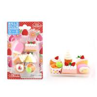 IWAKO ER-981011 岩泽趣味橡皮 儿童卡通可爱橡皮创意文具 .蛋糕当当自营
