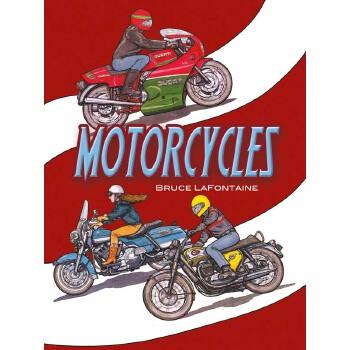 Motorcycles Coloring Book 按需印刷商品,15天发货,非质量问题不接受退换货。