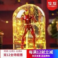 复仇者联盟钢铁蜘蛛侠美国队长黑豹手办玩具人偶生日礼物