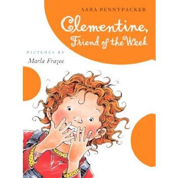 Clementine, Friend Of The Week (Turtleback School & Library Binding Edition) (Clementine (Pb)) [ISBN: 978-0606233569] 美国发货无法退货,约五到八周到货