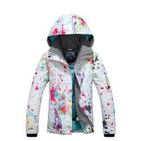 户外保暖外套滑雪衣女双单板滑雪服上衣女韩国