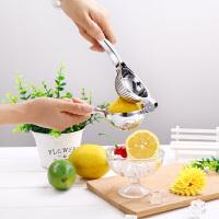 家用柠檬夹子榨橙汁挤压汁器手动榨汁机不锈钢迷你压榨果汁榨汁器