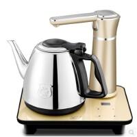 长城 自动上水壶电热水壶304不锈钢抽水烧水电茶壶煮茶器1.0升