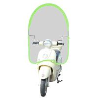 电动电瓶车时尚雨棚蓬摩托车雨伞遮阳伞自行电动车防晒挡风罩挡雨透明