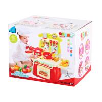 儿童过家家厨房玩具套装男女孩宝宝幼儿益智带仿真音乐做饭小厨房