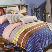 [当当自营]维众家纺 全棉双人彩条四件套 200*230cm 1.5米/1.8米床通用