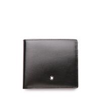 MontBlanc万宝龙配零钱包黑色4卡片格皮夹7164