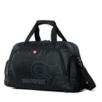大容量手提旅行袋男女紫色收纳袋商务出差行李包单肩斜挎包轻