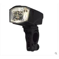 山地车灯自行车骑行装备 自行车充电前灯电喇叭前灯德标