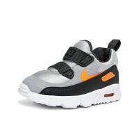 【1件4折】耐克(Nike)童鞋 减震气垫鞋 男女童防滑耐磨运动鞋881924-009 灰橙