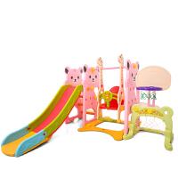 室内儿童滑梯家用多功能 滑滑梯 宝宝滑梯秋千组合塑料玩具