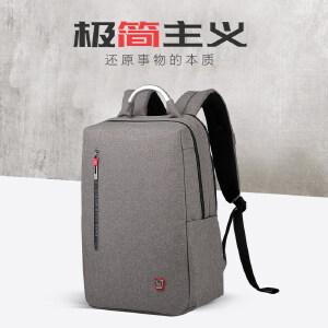 商务电脑包双肩男士多功能背包时尚休闲潮流书包双数码层背包4306