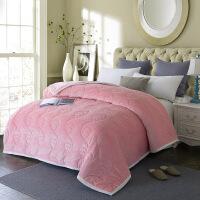 君别秋冬季双层复合加厚法兰绒毯子毛毯毛巾被子单双人午睡毯盖毯床单