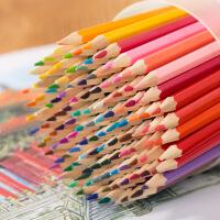 油性彩铅120色绘画美术涂鸦填色彩色铅笔学习*佳品