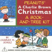 Peanuts:Charlie Brown Christmas Kit史努比系列:花生布朗(书+圣诞树玩具)ISBN9
