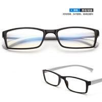 2018082724588532018新款男无度数防护电脑辐射眼镜女蓝光抗疲劳平面平光镜护眼平镜