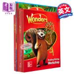 2017新版 美国加州语文教材套装 精读+泛读共8本 一年级 英文原版 Reading Wonders Grade 1