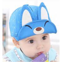 帽子 男女宝宝套头帽 婴儿棒球帽 韩版小孩男女童棒球帽6-12个月遮阳鸭舌帽宝宝帽子