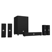 JBL CINEMA 325功放一体5.1蓝牙无线家庭影院音箱音响套装