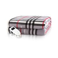 彩阳电热毯(100*180cm)单人上下双温双控碳纤维远红外3档智能定时安全防水电褥子