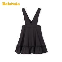 巴拉巴拉儿童裙子女童公主裙春装2020新款中大童裙子雪纺背带裙女