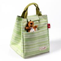 新款韩式牛津布便当包便当袋铝箔手提袋学生保温包饭盒包冰包饭盒袋