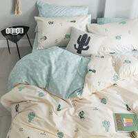 【家装节 夏季狂欢】全棉纯棉网红款床上用品四件套宿舍床单人三儿童被套床笠夏季