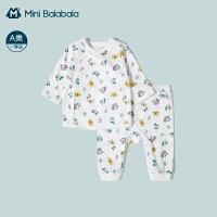 [迪士尼IP]迷你巴拉巴拉新生婴儿衣服2021夏季薄款宝宝纯棉套装