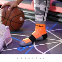 男女加厚吸汗加压袜子 新款运动袜羽毛球篮球袜 户外跑步健身精英袜子