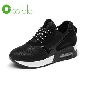 红蜻蜓旗下coolala休闲运动鞋女单鞋潮流时尚高帮鞋舒适女鞋