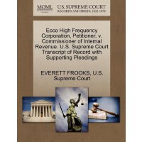 Ecco High Frequency Corporation, Petitioner, v. Commissione