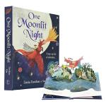 【中商原版】月夜 One Moonlit Night 精装 立体书 翻页弹出式立体绘本 儿童冒险故事绘本