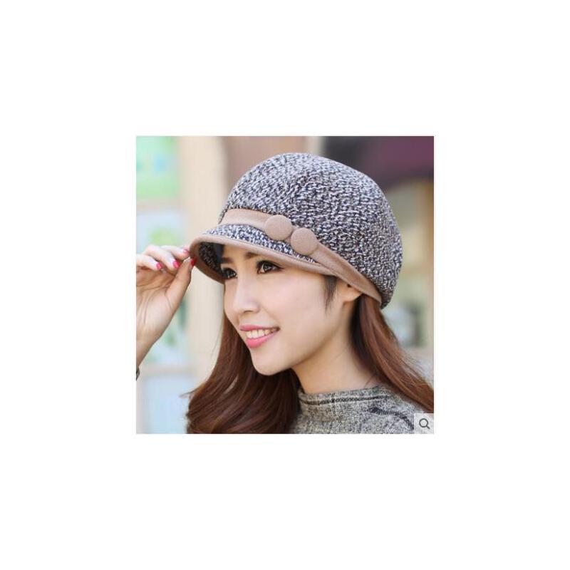 秋冬帽子女韩版潮贝雷帽盆帽时尚鸭舌帽渔夫帽太阳帽八角帽