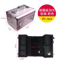 多层纹绣工箱化妆箱手大号美容美甲工箱 大容量纹绣箱