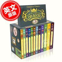 现货 驯龙高手12本全套套装 1-12册全集 英文原版 How to Train Your Dragon Comple
