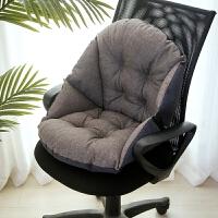 君别防滑坐垫椅垫学生靠垫一体办公室椅子垫子靠背电脑椅屁垫四季加厚