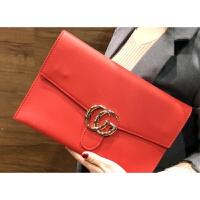 韩版女士手拿包时尚约信封包大容量休闲百搭链条包个性斜跨包潮