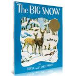 【中商原版】大雪 英文原版 The Big Snow 1949年凯迪克金奖 故事绘本