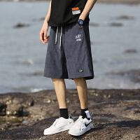 男士短裤夏季薄款2021新款潮流宽松五分裤子学生百搭沙滩裤中裤