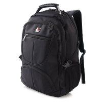 商务背包休闲旅行笔记本电脑双肩包男女学生轻便防水多功能大容量