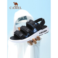 camel骆驼男鞋 夏季新款透气韩版潮流男凉鞋休闲减压AIR气垫沙滩鞋