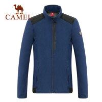 camel骆驼男装秋冬新款韩版夹克加绒保暖都市时尚休闲运动外套男